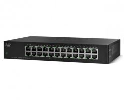 SF110-24-AU-Cisco 24 Port 10/100 Unmanaged 1U Rackmountable Switch