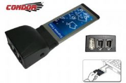 CO-EXP0090-Condor USB & IEEE1394 Exp Card 1 x USB