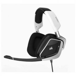 CA-9011155-AP-Corsair VOID PRO WHITE RGB USB wired Premium Gaming Headset with Dolby® Headphone 7.1 AUDIO