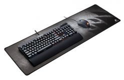 CH-9000108-WW-Corsair MM300 Anti-Fray Cloth Gaming Mouse Mat Extended Edition 930mm x 300mm x 3mm