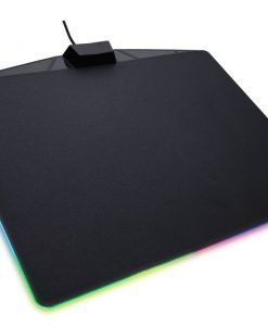 CH-9440020-AP-Corsair MM800 RGB POLARIS RGB Mouse Mat. 15 RGB Zones with CUE software for Ultimate Gaming Setup. 350mm x 260mm x 5mm