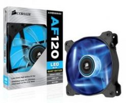 CO-9050026-WW-Corsair SP 140mm Fan Blue LED High Static Pressure 3 PIN (LS)