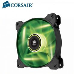 CO-9050027-WW-Corsair SP 140mm Fan Green LED High Static Pressure 3 PIN (LS)