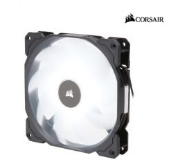 CO-9050085-WW-Corsair Air Flow 140mm Fan Low Noise Edition / White LED 3 PIN - Hydraulic Bearing