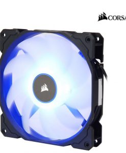 CO-9050087-WW-Corsair Air Flow 140mm Fan Low Noise Edition / Blue LED 3 PIN - Hydraulic Bearing