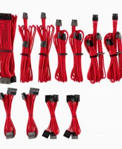 CP-8920223-For Corsair PSU - RED Premium Individually Sleeved DC Cable Pro Kit