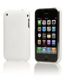 CY-P-SFW-Cygnett Form White iPhone Case Fitted Hard Case Protec (LS)