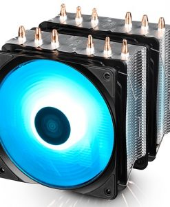 NEPTWIN RGB-Deepcool Neptwin RGB Twin-Tower Heatsinks 6 Heatpipes 12V RGB CPU Air Cooler