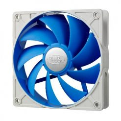 UF 120-Deepcool Ultra Silent 120mm x 25mm Ball Bearing Case Fan with Anti-Vibration Frame PWM