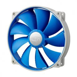 UF140-Deepcool Ultra Silent 140mm x 25mm Ball Bearing Case Fan with Anti-Vibration Frame PWM