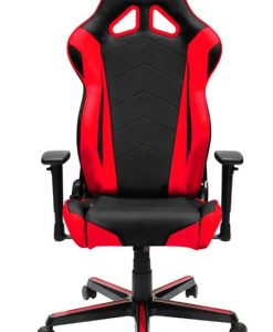 OH/RZ0/NR-DXRacer Racing RZ0 Gaming Chair - Neck/Lumbar Support Black & Red