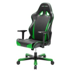 OH/TS29/NE-DXRacer Tank TS29 Gaming Chair Black & Green - Sparco Style Neck/Lumbar Wide Seating Support/Maximum load 220kg/Universal Gaming Padded Seat