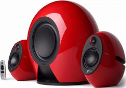 E235-RD-Edifier E235 LUNA E 2.1 THX-Certified Active Blutooth Speaker Red - BT/3.5mm/Optical 5.8G Wireless Subwoofer