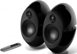 E25HD-BK-Edifier E25HD LUNA HD Bluetooth Speakers Black - BT/3.5mm/Optical DSP 74W