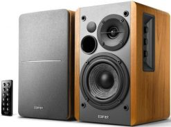 R1280DB BROWN-Edifier R1280DB - 2.0 Lifestyle Bookshelf Bluetooth Studio Speakers Brown