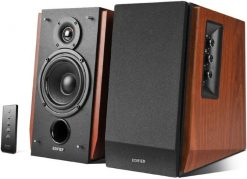 R1700BT.BROWN-Edifier R1700BT - 2.0 Lifestyle Bookshelf Bluetooth Studio Speakers Brown