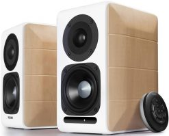 S880DB-Edifier S880DB Hi-Res Audio Certified Powered Bookshelf Bluetooth Speakers White - BT 4.1/3.5mm AUX/USB/Optical/94mm Bass Driver/Built-in AMP