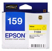 C13T159490-Epson 159 Yellow Ink Cartridge Suits R2000 Printer