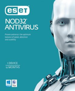 EAVH1D1Y-ESET NOD32 Antivirus OEM 1 Device 1 Year Download