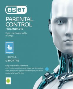 ES-PCTRL1D1Y-ESET Parental Control For Android 1 Device 1 Year Retail Download Card