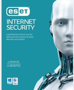 ESISOEM-3D1Y-20P-ESET Internet Security 3 Devices 1 Year OEM Download 20-Pack LIMITED TIME ONLY