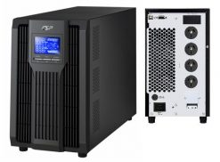 CHAMP 3K-FSP Champ 3000VA / 2700W Online UPS /Smart RS-232/USB/SNMP. Requires 15AMP Wall Socket to support large ground pin. (LS)