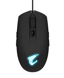AORUS-M2-Gigabyte AORUS M2 Optical Gaming Mouse USB Wired 6200 dpi 12500 fps 50g 3D Scroll 50 million click Matte Black RGB Fusion On-the-fly DPI Adjustment
