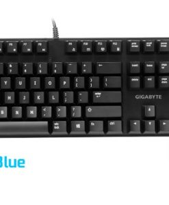 FORCE-K83-BLUE-Gigabyte FORCE K83 Mechanical Gaming Keyboard Cherry MX Blue Switch Anti-ghosting Function & Windows-lock hotkeys Wear Resistant Keycaps