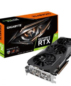 GV-N208TGAMING-OC-11GC-Gigabyte nVidia GeForce RTX 2080 Ti GAMING OC 11GB GDDR6 8K 7680x4320@60Hz 3xDP1.4 HDMI2.0 USB-C Windforce 3X Fan RGB Fusion NVLink 1665/1650MHz