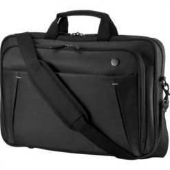 "2SC66AA-HP 15.6"" Essential Topload Notebook Laptop Bag Carry Case Black Colour Smooth Carry Handles Shoulder Strap Light Weight Durable fit 16"" 15"" 14"" 13"" 12"