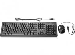 H6L29AA-HP USB Essential Keyboard Mouse Combo Black - programmable pre-programmed buttons KB