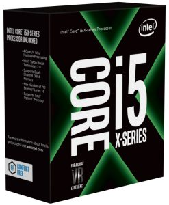 BX80677I57640X-Intel Core X i5-7640X 4Ghz Kabylake-X Quad-Core s2066 6MB Cache 112W No Fan Unlocked X299 MB required Retail Boxed 3 Years Warranty
