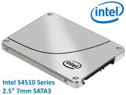 "SSDSC2KB019T801-Intel DC S4510 2.5"" 1.92TB SSD SATA3 6Gbps 3D2 TCL 7mm 560R/510W MB/s 97K/36K IOPS 2xDWPD 2 Mil Hrs MTBF Data Center Server 5yrs Wty ~HBI-S4500-1.92TB"