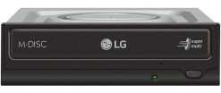 GH24NSD1-LG GH24NSD1 24x SATA Internal DVD Drive Burner - Silent Play Jamless Play Power2Go