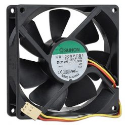 92MM REAL FAN-Loop 92mm RearFan with 3pin