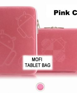 """NAL-T10MOFIPINK-Tablet 10"""" MofiZip Case Pink Andriod logo. Suit any 10"""" tab"""