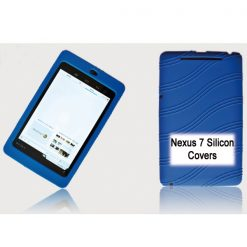 "NAL-T7SIL-BLUE-Tablet 7"" Silicon Back Blue Back Case for Nexus 7 / 7"" Tab"