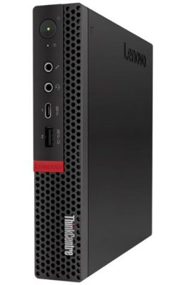 10T7000BAU-Lenovo ThinkCentre M720 Tiny SFF Intel i7-8700T 8GB DDR4 256GB SSD Windows 10 Pro 3 yrs onsite warranty TPM2.0 DP HDMI USB3.1 USB-C