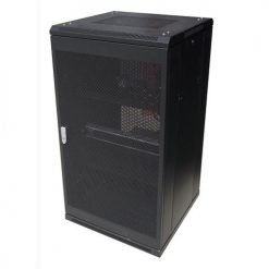 NCB22-68-DDA-LinkBasic 22U 800mm Depth Server Rack Mesh Door with 4x240v Fans and 8-Port 10A PDU