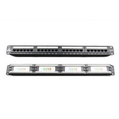 PND24-UC6-LinkBasic 24 Port Cat6 Patch Panel Rack Mount