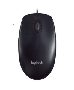 910-001795-Logitech M90 USB Wired Optical Mouse 1000dpi for PC Laptop Mac Full Size Comfort smooth mover