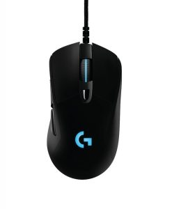 910-004826-Logitech G403 USB Wired Prodigy Gaming Mouse 12000 DPI On-The-Fly DPI Shifting 6 Programmable Buttons Onboard Memory Adjust Weight System