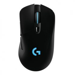 910-005095-Logitech G703 Lightspeed USB Wireless Gaming Mouse 2.4GHz 1ms 12000 DPI 6 Buttons Programmable RGB Lighting 10g Adjustable Weight OnBoard Memory
