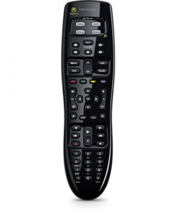915-000244-Logitech Harmony 350 Remote Universal Remote Control Most compatible One-touch entertainment 5 channel presets