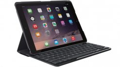 "920-009017-Logitech Slim Folio Case Cover with Bluetooth Keyboard for iPad 9.7"" 2017 5th 6th Gen"
