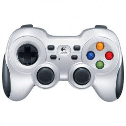 940-000119-Logitech F710 Nano USB Dual Vibration Feedback MotorsPC Gamepad 2.4GHz Wireless D-pad Work with Android TV Extensive game support