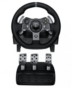 941-000126-Logitech G920 Driving Force Racing Wheel for XBOX/PC Dual-Motor Force Feedback - Dual motor force feedback Precision control