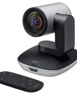 960-001184-Logitech PTZ Pro 2 Conference Cams HD Video Conferencing Pan Tilt Zoom Camera for Medium-Large Business Group works w Skype MS Lync Cisco Jabber Wex