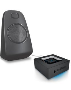 980-000914-Logitech Bluetooth Adapter Audio Streaming Via Bkuetooth - Superior acoustics Long wireless range Auto re-pairing