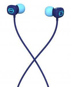 985-000206-Logitech UE100 Noise-Isolation Hipster Earphones Earbuds Headphones 3.5mm Stereo Jack 105dB 115cm Cable for Apple iPhone iPod iPad Air Samsung Mobile